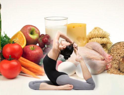 Chế độ dinh dưỡng cho người tập yoga