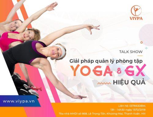 [TALKSHOW] Giải pháp quản lý phòng tập yoga và group-X hiệu quả
